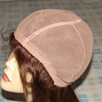 Glueless cap one side view