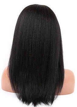 Kinky Straight hair texture