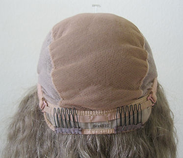 Glueless cap seven lace forehead back