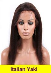 Italian Yaki glueless lace wig