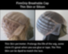 FirmGrip Breathable Cap - Thin Skin or Silicon