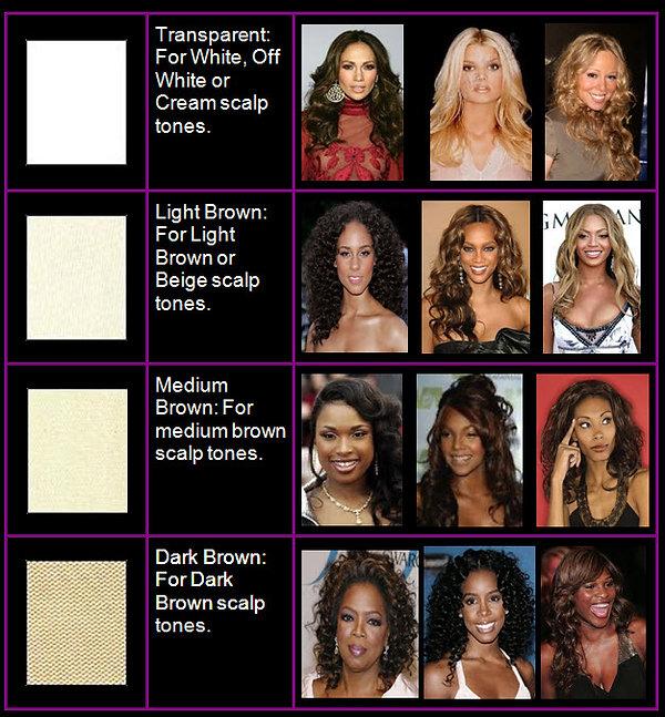 Lace Colors Chart