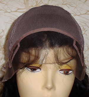 Glueless Cap two inside forehead