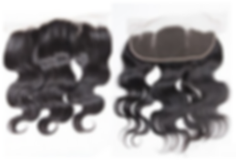 lace frontals front and back