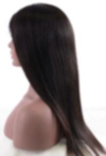 Silky Straight hair texture