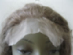 Glueless cap seven lace forehead