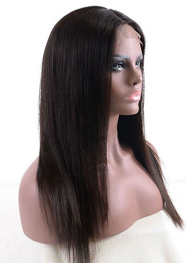 Silky Straight hair texture