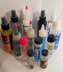 Glues for attaching lace wigs
