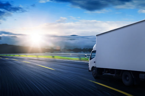 graphicstock-truck-traveling-on-road-at-