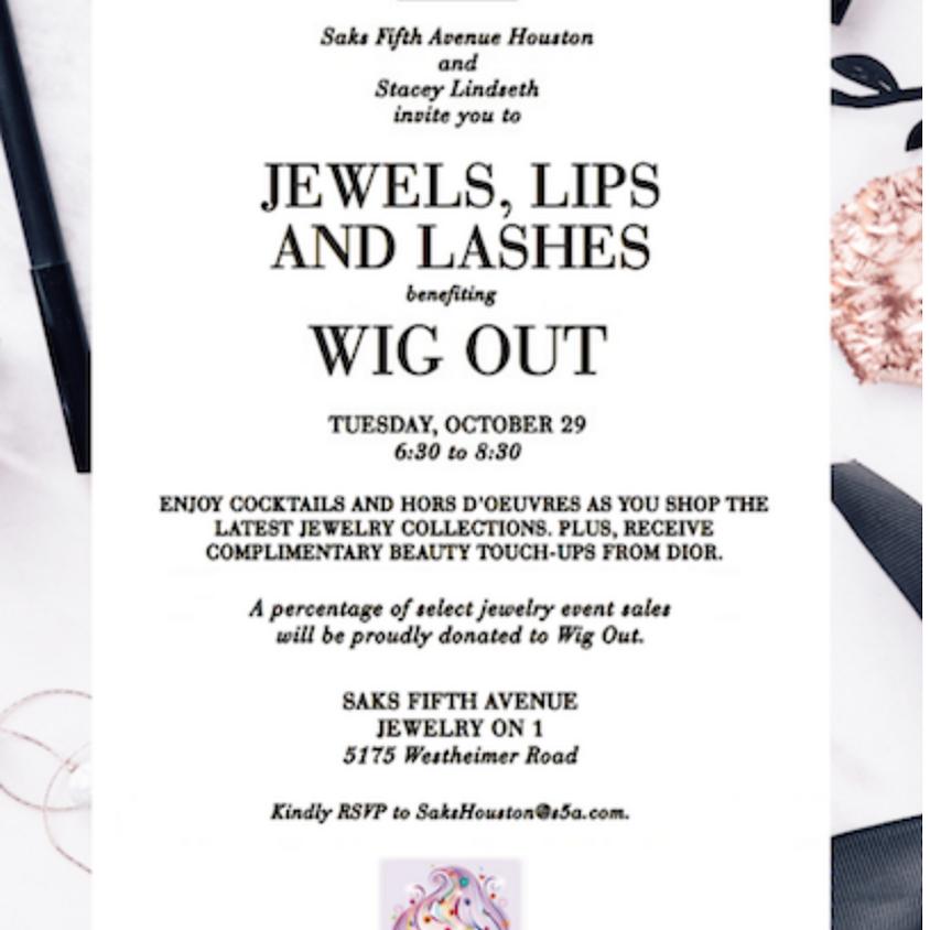 Jewels + Lips + Lashes
