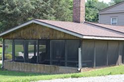 Lodge Outside Back Porch