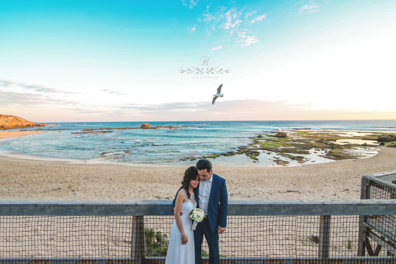 Portsea pre wedding