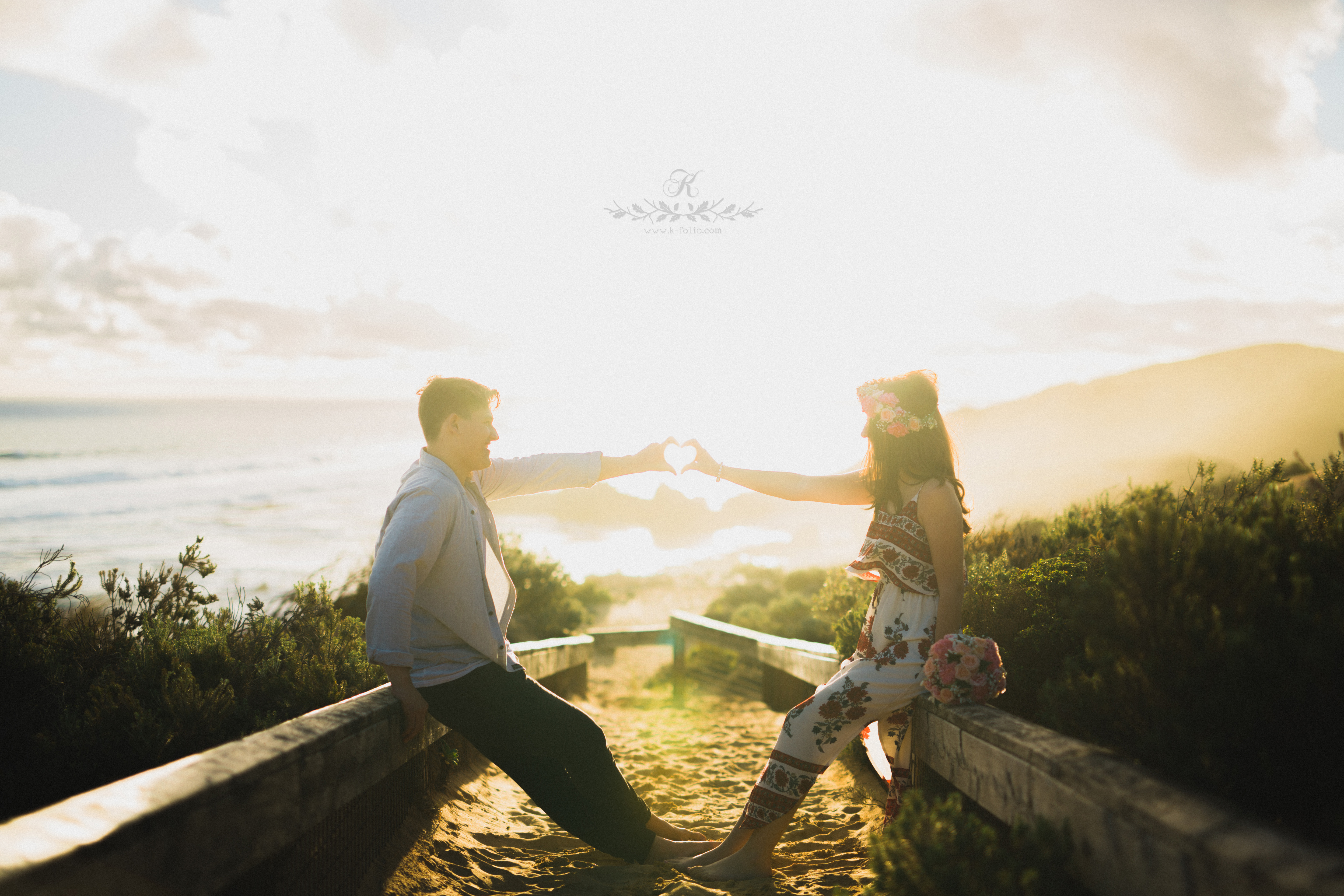 Renee + Jordan Melbourne Pre wedding