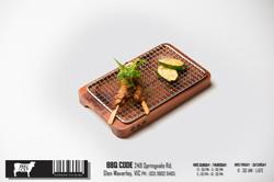 BBQ Code Korean food