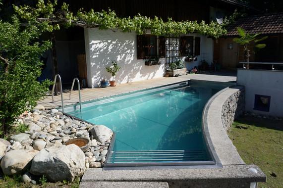 Swimming Pool in Spezialform