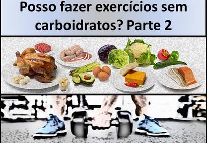 Preciso de carboidratos para fazer exercícios? Parte 2