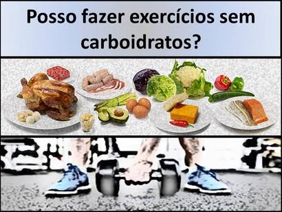 Preciso de carboidratos para fazer exercício? Parte 1