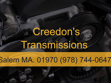 Creedon's Transmission 100 Years In Salem MA.