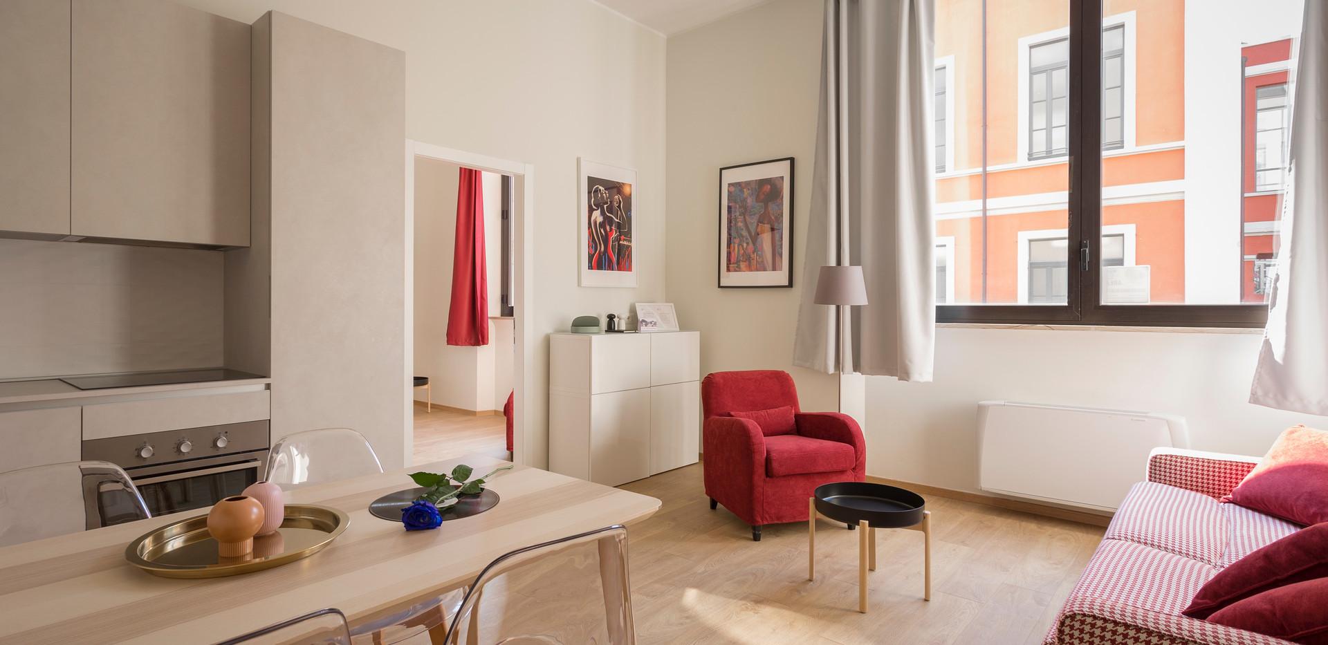 Kensington flat refurbishment