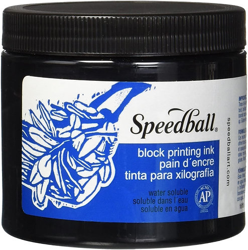 Speedball Warer Soluable Block Printing Ink 8oz