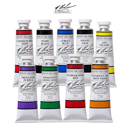 37mL M. Graham Oil Colors Series 3