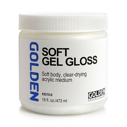 8 oz Golden Soft Gel Mediums