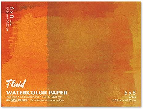 Cold Press Fluid Watercolor Block