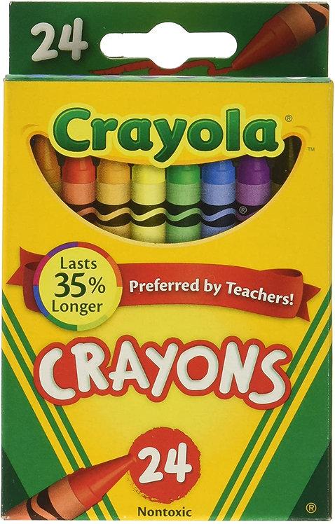 Crayola 24 Count Crayons