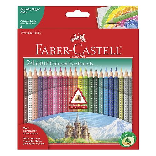 24 Grip Colored EcoPencils