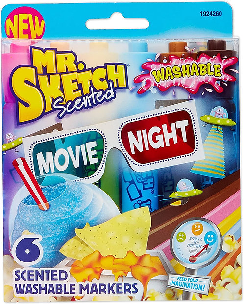 Mr. Sketch Scented Markers, Set of 6