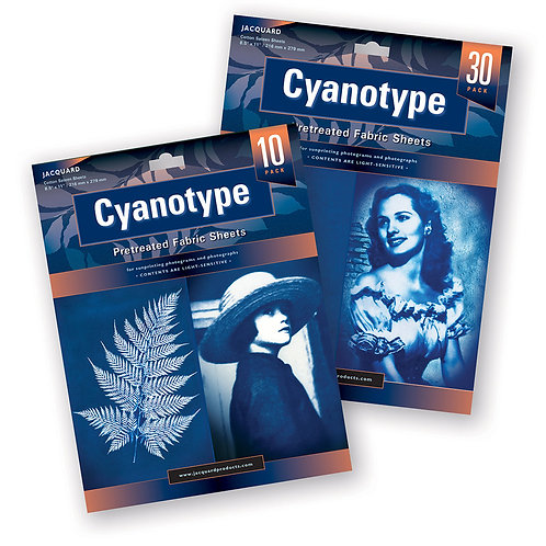 Cyanotype Fabric Sheets