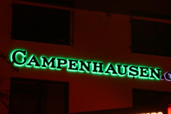 Lichtwerbeanlage für Campenhausen