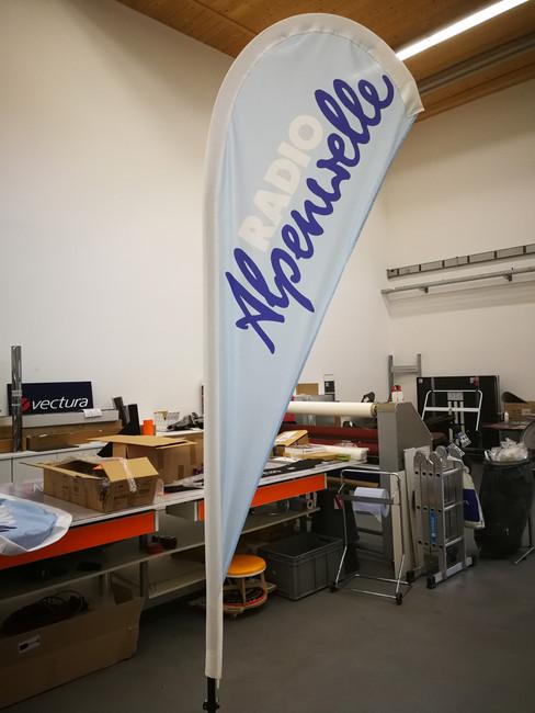 Roll up für Radio Alpenwelle