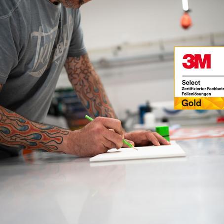 Art 4 Sign als 3M Select Gold Partner