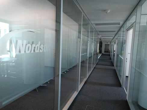Sichtschutz in Büros