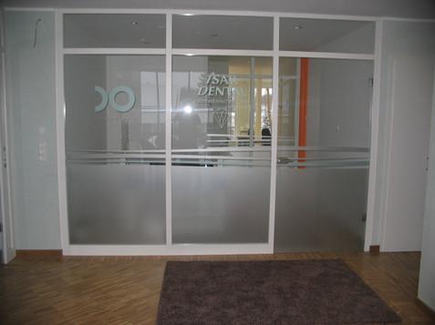 Sichtschutz für Glasfenster