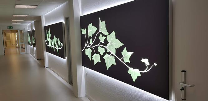 Lichttechnik für Büro Innenraum