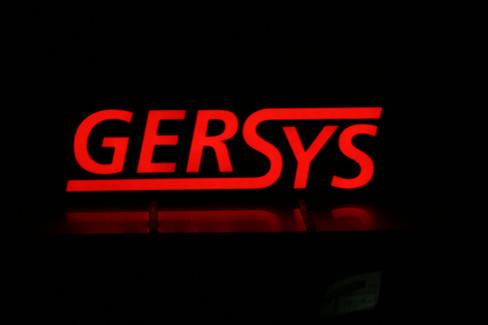 Lichtwerbeanlage für GerSys