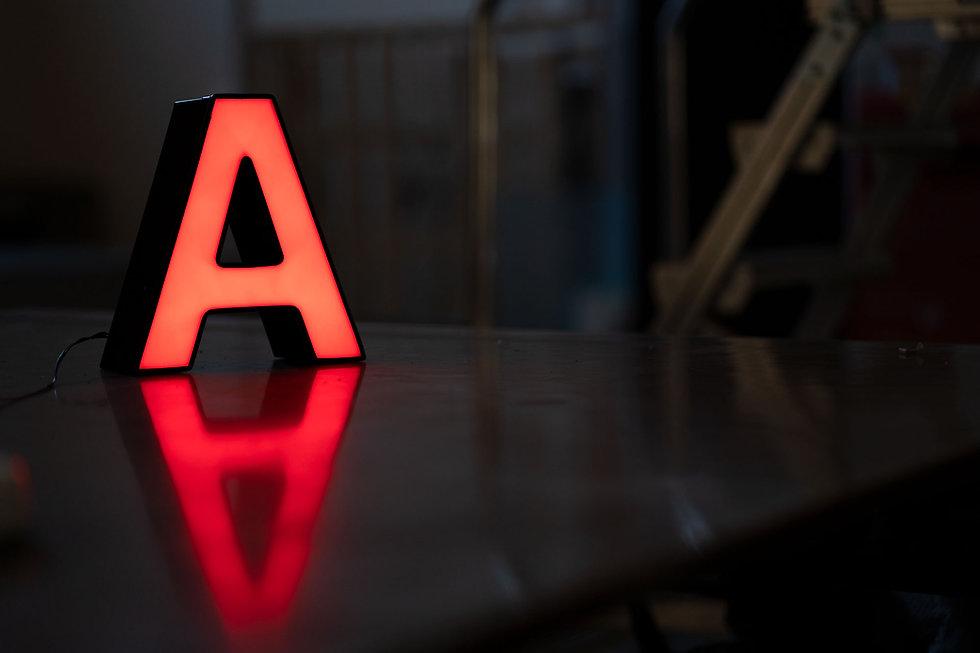 LED Lichttechnik von Art 4 Sign