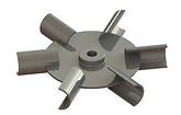 hélice tipo turbina
