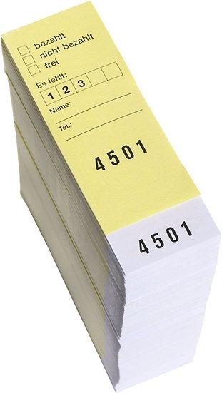 Rezeptkontrollmarken Post-It
