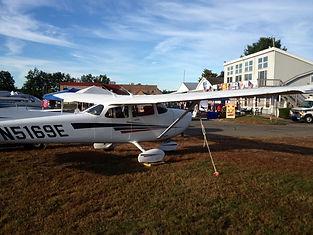 Cessna 172 at Simsbury Flyin