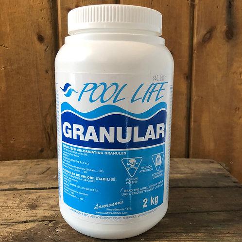 Pool Life Granular Stabilized 2kg