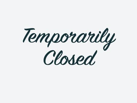GCL Announces Temporary Closure