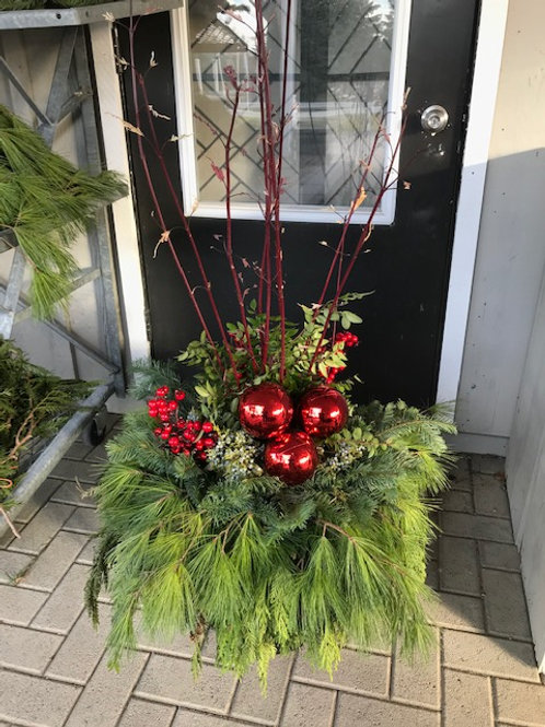 "All that Jazz 14"" Christmas Planter"
