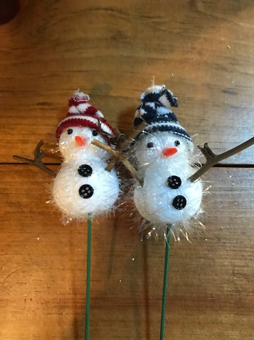 Snowman Planter Add-On