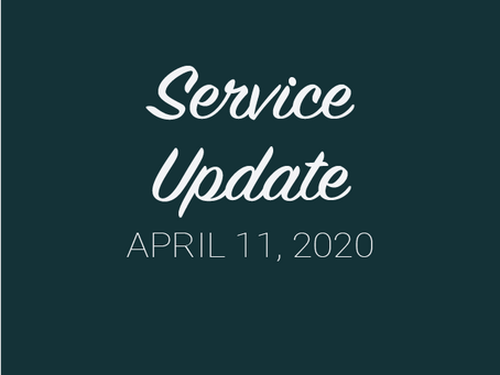 Service Update from GCL