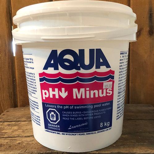 Aqua pH Minus Pail 8kg
