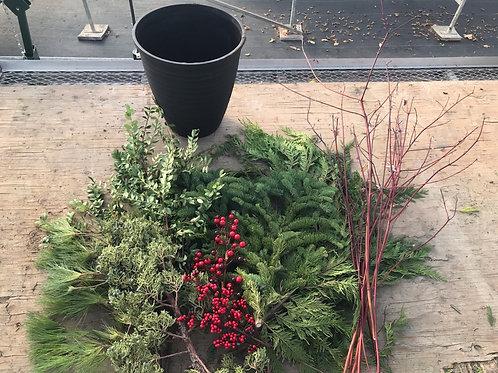DIY Christmas Planter Kit