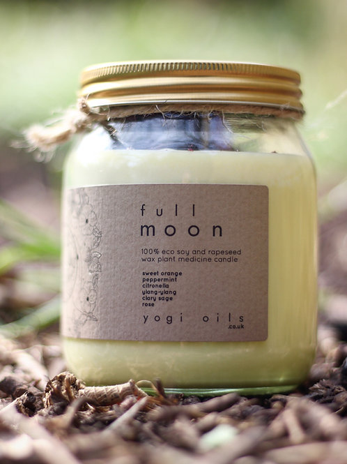 moon child candle / full moon 🌕